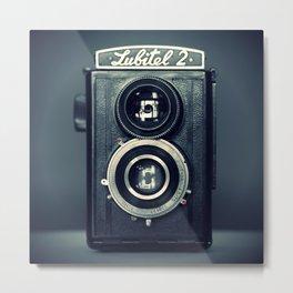 Camera Lubitel 2 Metal Print