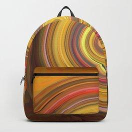 Swirls of digital paint Backpack