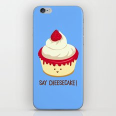 Say CheeseCake! iPhone & iPod Skin