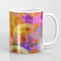 psychadelic Mugs featuring Weird by Ganech joe