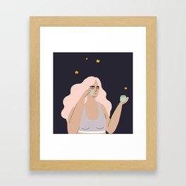 mush Framed Art Print