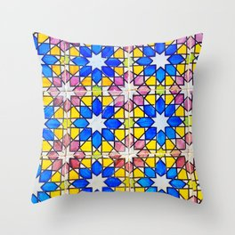 Azulejos - Portuguese tiles Throw Pillow
