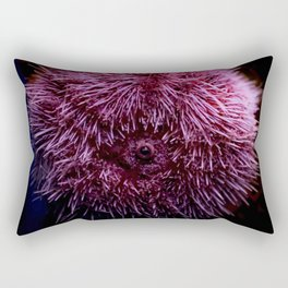 Pink Sea Urchin Rectangular Pillow