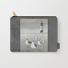 Seagulls Lighthouse Carry-All Pouch