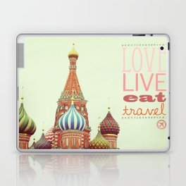 Love, Live, Eat, Travel Laptop & iPad Skin