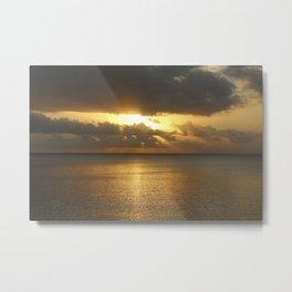 Balinese Sunset Metal Print