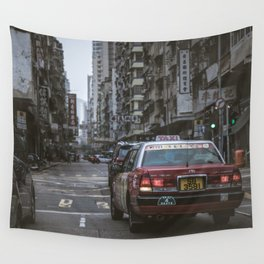 Hong Kong Street Wall Tapestry