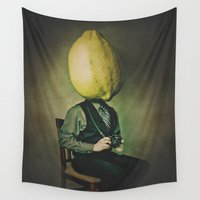photographer Wall Tapestries featuring Lemonhead Photographer Portrait by Dan Howard