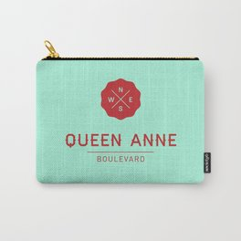 Queen Anne Boulevard Carry-All Pouch