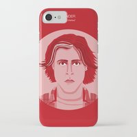 the breakfast club iPhone & iPod Cases featuring The Breakfast Club - Bender by Priscila Floriano