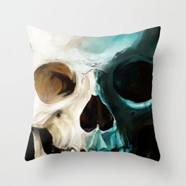Skull 14 Throw Pillow