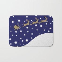 Christmas Santa Claus Bath Mat