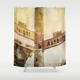 Sunset In the Haight Shower Curtain