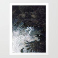 7Ravens Art Print