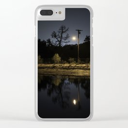 From the waters edge 01 Clear iPhone Case