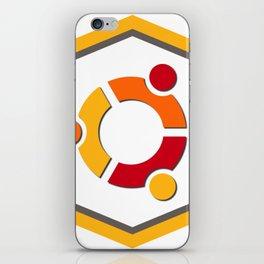 ubuntu apache linux operating  system  stickers iPhone Skin