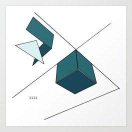 Boxes 1 Art Print
