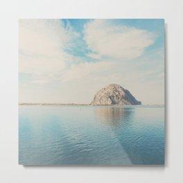 Morro Rock photograph Metal Print