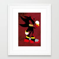 shadow Framed Art Prints featuring Shadow by JHTY