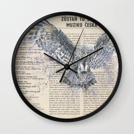 His Master's Voice - The Owl Wall Clock