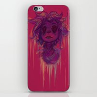 hiccup iPhone & iPod Skins featuring Hiccup by Satu Mitsumi