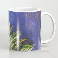 fern Mugs featuring Fern by Olivia Joy StClaire