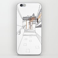 seoul iPhone & iPod Skins featuring SEOUL MOMENT_02 by By-EunEun