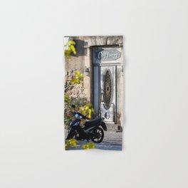 Door in port of Aegina 2 Hand & Bath Towel