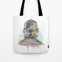 yellowfreight Tote Bag