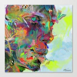 Iris Drops Canvas Print
