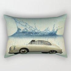 deep water porsche Rectangular Pillow