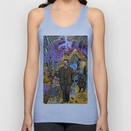 Charles Fort - Fortean Unisex Tank Top