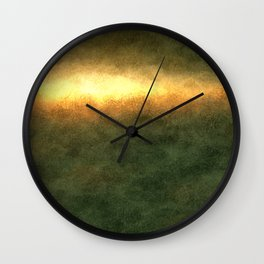 The Earthy Trend Wall Clock