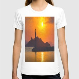 Lighthouse Impressionism T-shirt