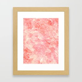 Art Deco Pink Framed Art Print