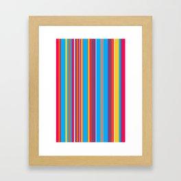 Stripes-013 Framed Art Print