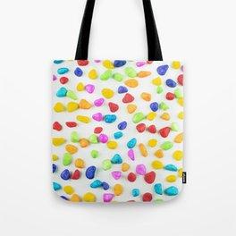 Rainbow rocks Tote Bag