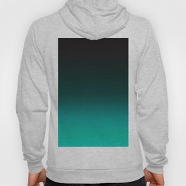 Ombre Turquoise Hoody