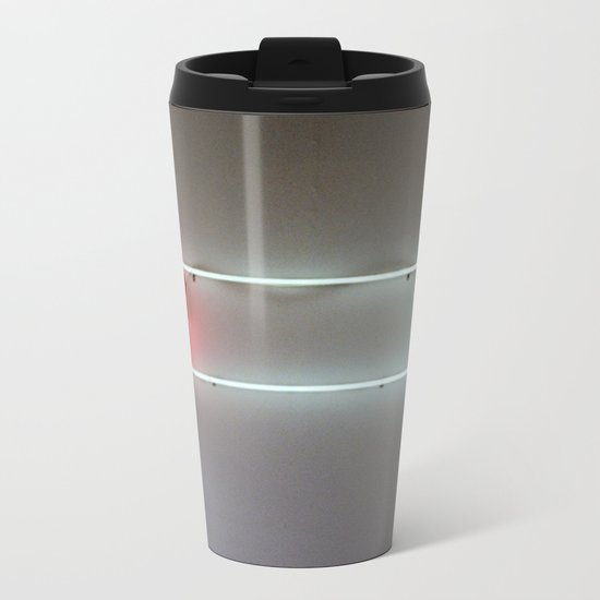 Low Battery Metal Travel Mug