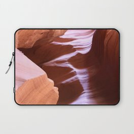 Antelope Colors Abstract Sandstone Waves Laptop Sleeve