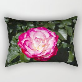 Red and White rose Rectangular Pillow