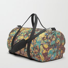 Watercolor gold cloud Duffle Bag