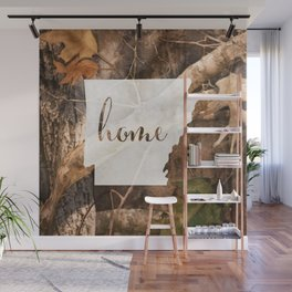 Arkansas is Home - Camo Wall Mural