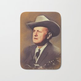 Bill Monroe, Country Legend Bath Mat