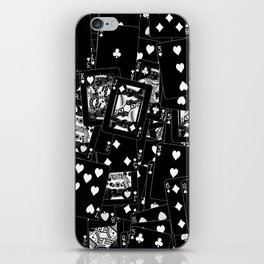 Suits You BLACK iPhone Skin