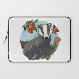Autumnal Badger Laptop Sleeve