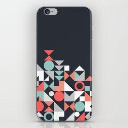 Modern Geometric 30 iPhone Skin