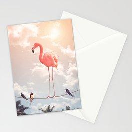 FLAMINGO & FRIENDS Stationery Cards