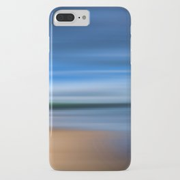 Beach Blur Painted Effect iPhone Case