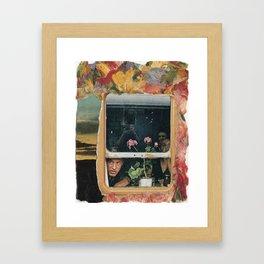 travelin' man Framed Art Print